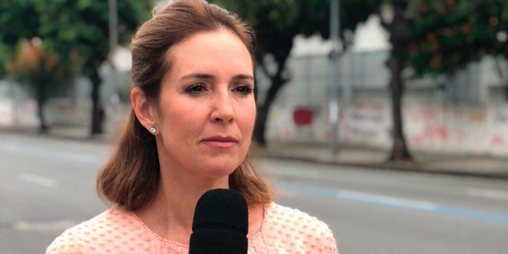 Renata Capucci viralizou nas redes sociais com vídeo lendo TP em inglês (foto: Reprodução/Redes Sociais)