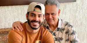 Juarez Dias, pai de Rodolffo Mathaus, chamou João Luiz de falso (foto: Reprodução)