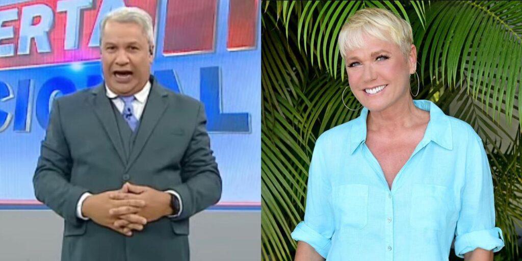Sikêra Jr. exige que Xuxa seja condenada a lhe pagar indenização de R$ 50 mil (foto: Montagem/Redes Sociais)
