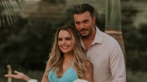 Cantora Thaeme está grávida de uma menina (foto: Divulgação/Carlos Azevedo)