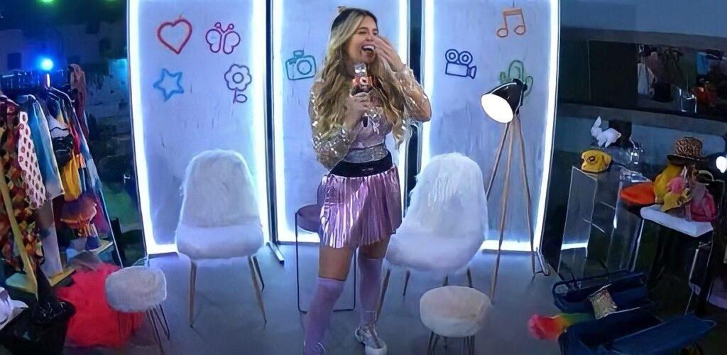 Viih Tube já está implorando por um emprego como apresentadora depois do BBB 21 (foto: Reprodução/TV Globo)