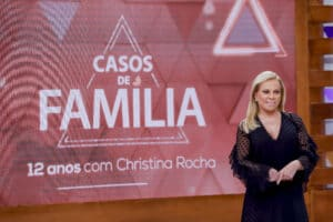 Casos de Família completa 12 anos com apresentação de Christina Rocha (foto: Lourival Ribeiro/SBT)