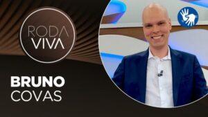 Bruno Covas deu entrevista ao Roda Viva em janeiro de 2020 (foto: Divulgação/TV Cultura)