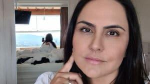Carla Cecato brincou com seguidores e disse aceitar Pix (foto: Reprodução/Instagram)