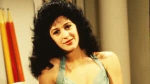 Claudia Raia como a personagem Tancinha na novela Sassaricando (foto: Globo/ Nelson Di Rago)