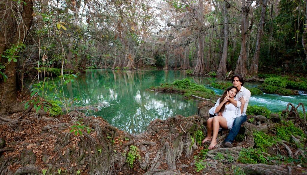 Coração Indomável é protagonizada por Ana Brenda Contreras e Daniel Arenas (foto: Divulgação/SBT/Televisa)