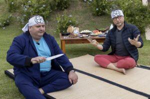 Culinária japonesa é tema do terceiro episódio do programa Minha Receita, de Erick Jacquin na Band (foto: Kelly Fuzaro/Band)