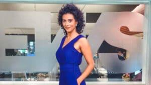 Aline Midlej assumirá o comando do Jornal das 10 em junho (foto: Divulgação/GloboNews)