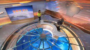 Ana Paula Araújo no encerramento do Bom Dia Brasil da Globo (foto: Reprodução)