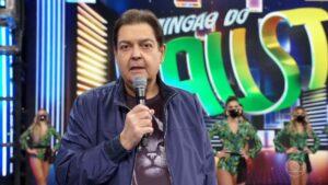 A direção da Globo não esperava que Faustão anunciasse sua ida para a Band com tanta antecedência (foto: Reprodução/Globo)