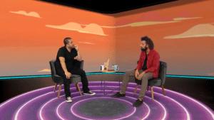 Maurício Meirelles e Cartolouco no Foi Mau (foto: Divulgação/RedeTV!)