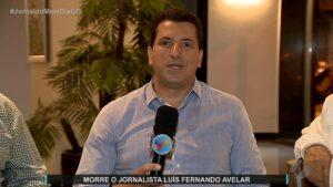 Luís Fernando Avelar trabalhava na TV Serra Dourada, afiliada do SBT (foto: Reprodução/TV Serra Dourada)
