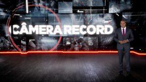 Luiz Fara Monteiro apresenta o Câmera Record (foto: Divulgação/Record)