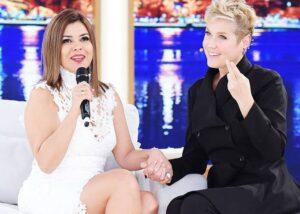 Mara Maravilha provoca Xuxa em entrevista (foto: Reprodução)