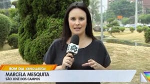 Marcela Mesquita foi demitida da afiliada da Globo no dia que voltava da licença-maternidade (foto: Reprodução)