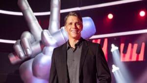 Márcio Garcia já se emocionou nas gravações do The Voice Kids, que estreia no próximo domingo (6) na Globo (foto: Globo/Fábio Rocha)