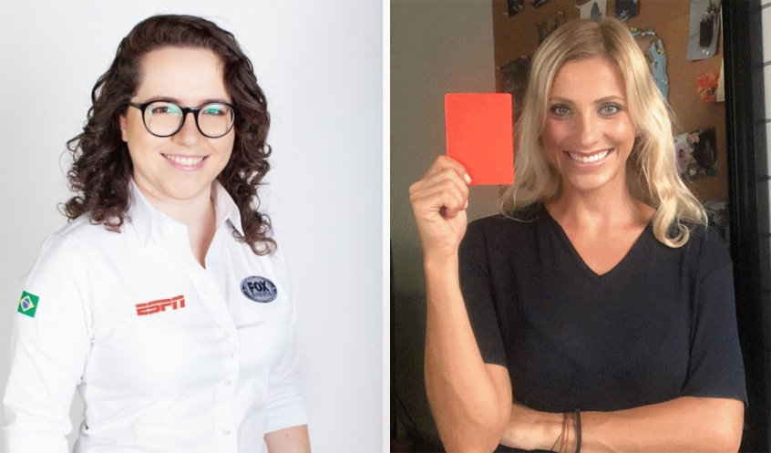 Natália Lara e Fernanda Colombo estreiam na Globo (foto: Reprodução)
