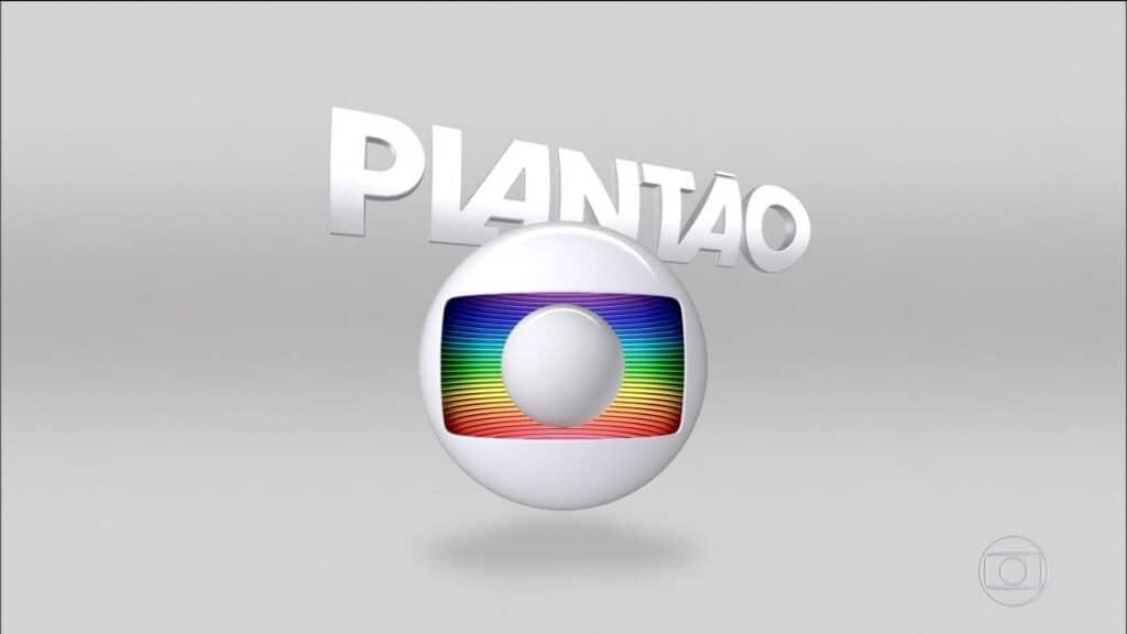 Vinheta do plantão da Globo assustou quem acompanhava a programação da emissora (foto: Reprodução/Globo)