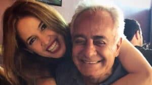 Poliana Abritta acompanhou o pai durante o período em que ele ficou internado no hospital (foto: Reprodução/Instagram)