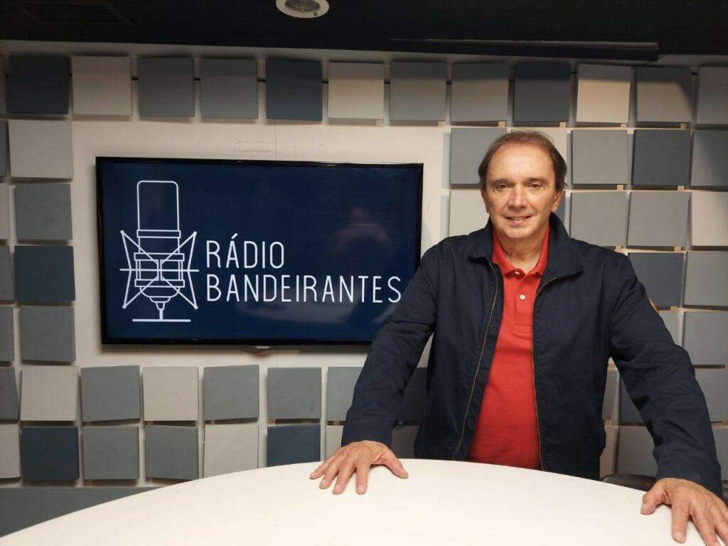 Reginaldo Leme estreia na Rádio Bandeirantes (foto: Divulgação)