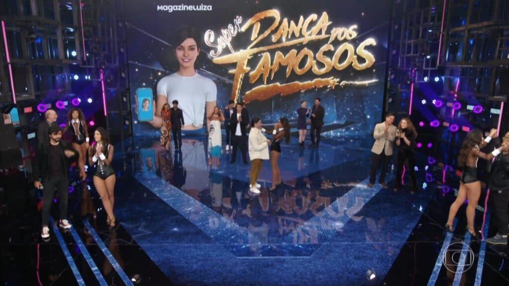 Faustão anunciou as primeiras duplas da Super Dança dos Famosos (foto: Divulgação/Globo)