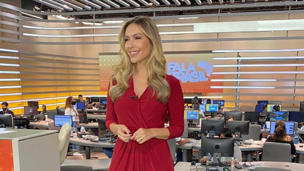 Thalita Oliveira deixa a escala de sábado do Fala Brasil (foto: Reprodução/Instagram)