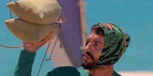Arcrebiano perdeu peso enquanto participava de No Limite (foto: Reprodução/TV Globo)