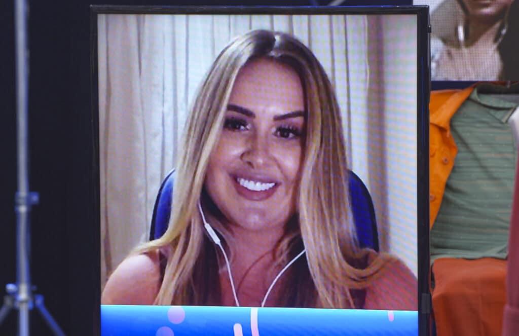 Patrícia Leitte revela que fez amor intenso com Kaysar no BBB18 (foto: Globo/Divulgação)
