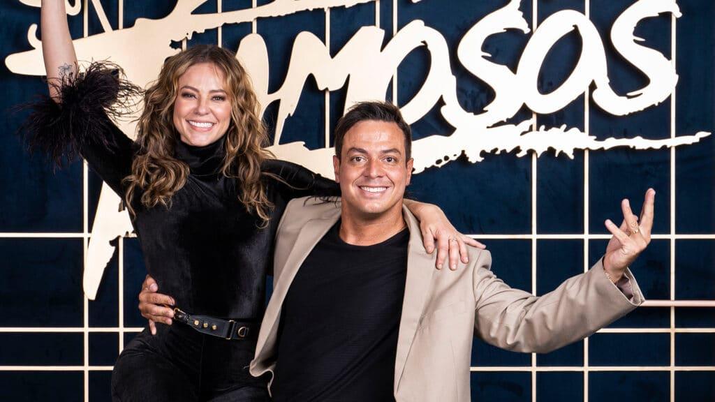 Paolla Oliveira e Leandro Azevedo estão na última edição da Dança dos Famosos com Faustão na apresentação (foto: Globo/Maurício Fidalgo)