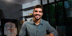 Caio Castro decidiu tentar a sorte como empresário do mundo da moda (foto: Reprodução)