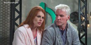 Deborah e Bruno se isolaram dos colegas no Power Couple (foto: Reprodução/Record)