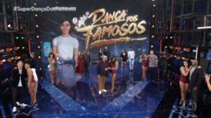 Faustão divulga o elenco completo da Dança dos Famosos (foto: Divulgação/Globo)