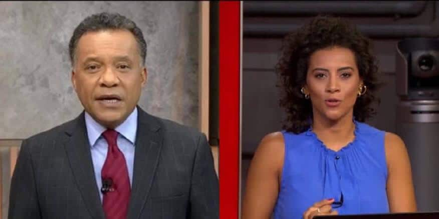 Heraldo Pereira e Aline Midlej foram promovidos e vão ter novos postos na Globo e na GloboNews (foto: Reprodução/TV Globo)