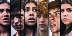Parte do elenco de Ilhados, filme que reunirá influenciadores e youtubers (foto: Reprodução/Chango)