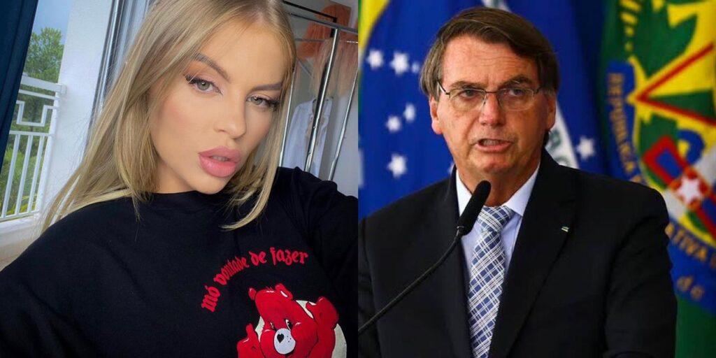 Luísa Sonza usou as redes sociais para atacar Jair Bolsonaro (foto: Reprodução)