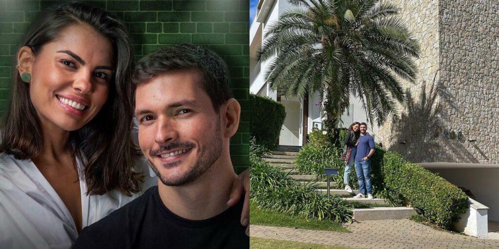 Malu e Bruno Perini compraram a sua primeira casa juntos (foto: Reprodução)