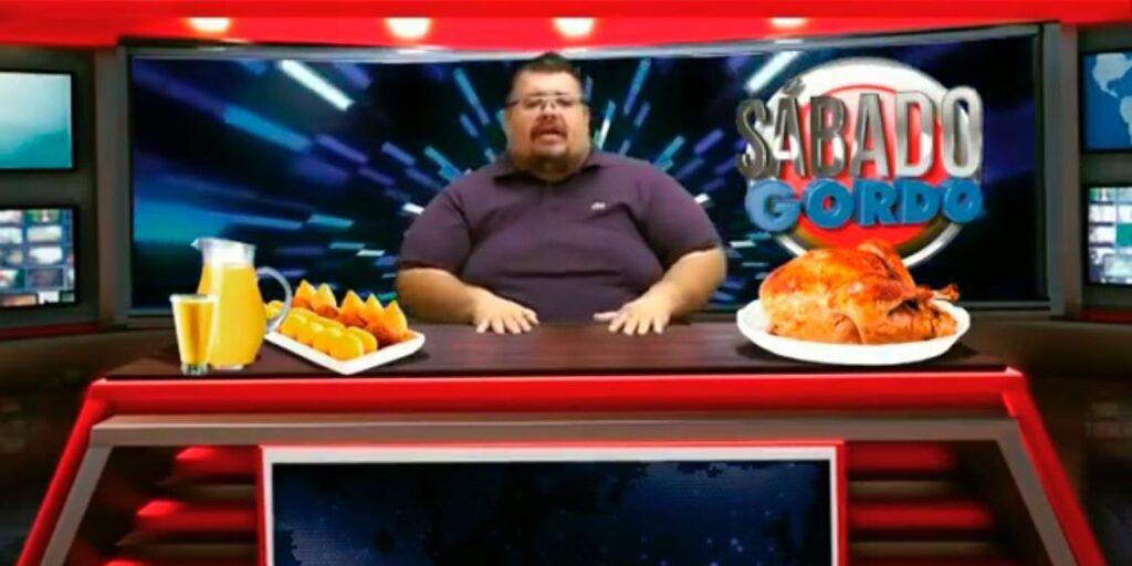 Brunão, o Peso da Notícia vai ser o Faustão da RedeTV!: jornalista terá programa de entretenimento (foto: Reprodução)