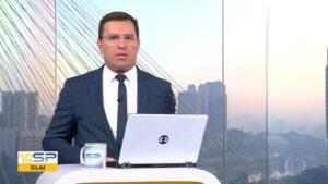 Ausência de Rodrigo Bocardi assustou telespectadores do Bom Dia São Paulo (foto: Reprodução/TV Globo)