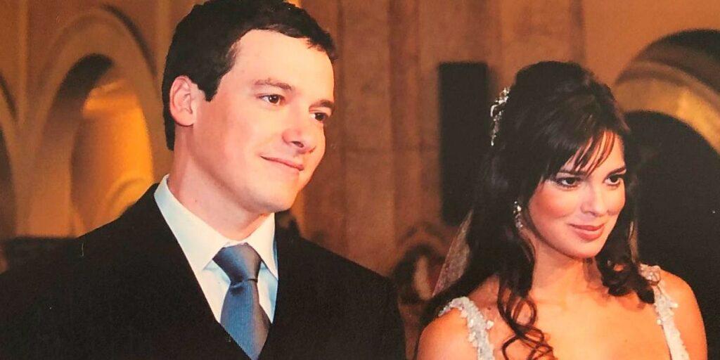 Record impediu Rodrigo Faro de comemorar aniversário de seu casamento com Vera Viel (foto: Reprodução)