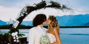 Sasha Meneghel e João Figueiredo se casaram em cerimônia de luxo no Rio de Janeiro (foto: Reprodução)