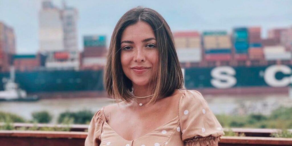 Thalita Meneghim ganhou destaque ao apresentar programas na Globo de Santa Catarina (foto: Reprodução)