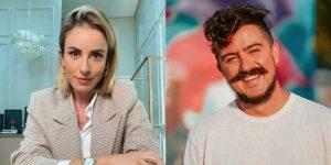 Valeska Bruzzi e Paulo Cuenca protagonizaram treta nas redes sociais (foto: Reprodução)