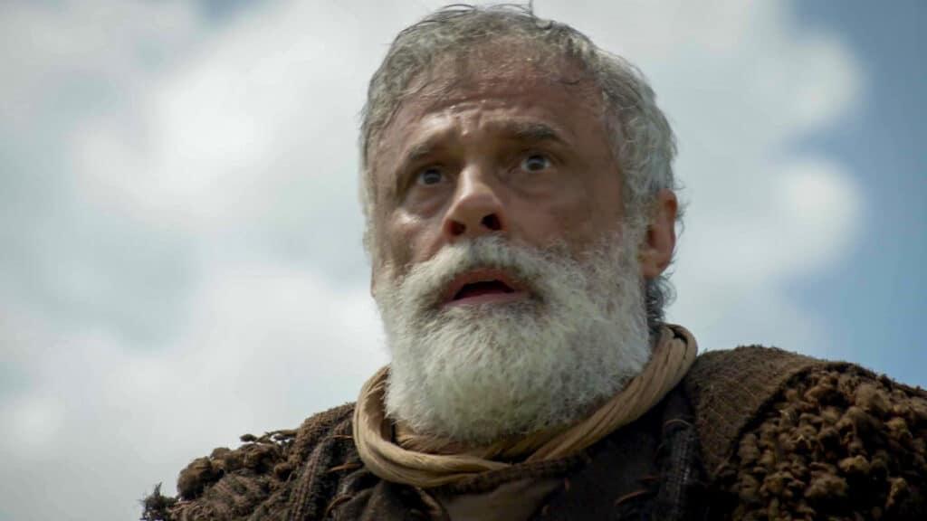 Oscar Magrini interpretou Noé na segunda fase da novela Gênesis (foto: Record/Divulgação)