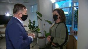Nubia Oliiver quebrou o silêncio e aceitou dar a primeira entrevista após as denúncias de que ela seria aliciadora de mulheres (foto: Divulgação/Record)
