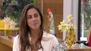 Carol Barcelos apresentará série no Encontro com Fátima Bernardes (foto: Globo/Reprodução)