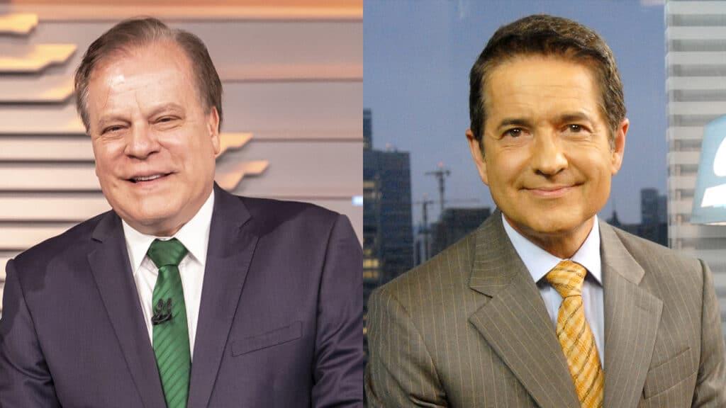 A Globo faz mistério se Chico Pinheiro e Carlos Tramontina vão reassumir seus postos nos telejornais da emissora (foto: Globo/João Cotta/Zé Paulo Cardeal)