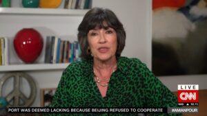 Christiane Amanpour revelou em seu programa que está com câncer de ovário (foto: Reprodução/CNN Internacional)