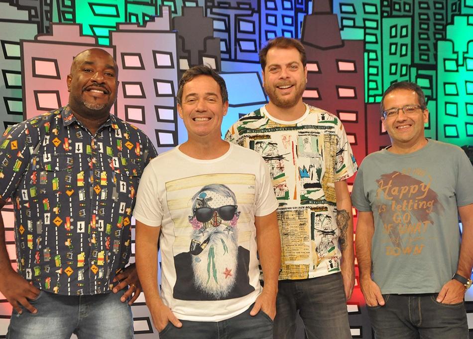 Encrenca comemora aniversário com programa especial (foto: RedeTV!/Divulgação)
