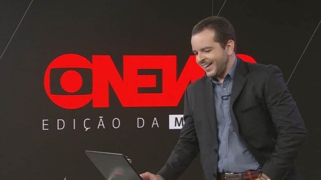 Âncora da GloboNews, Erick Bang revelou nas redes sociais ter sofrido acidente de trânsito (foto: Reprodução)