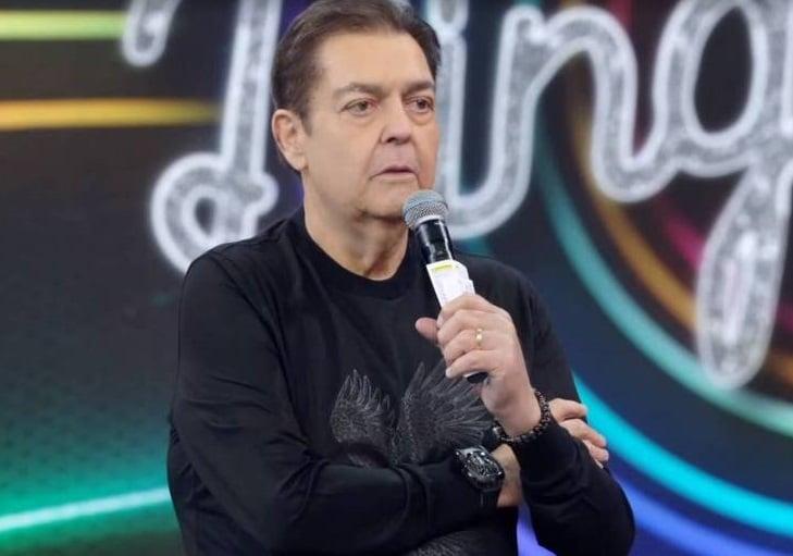 Faustão recebeu alta do hospital e agradeceu a Tiago Leifer por ter apresentado o Domingão (foto: Reprodução/Globo)